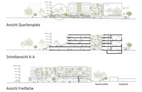 Neubau Bildungscampus Atzgersdorf - Plan Ausschnitt