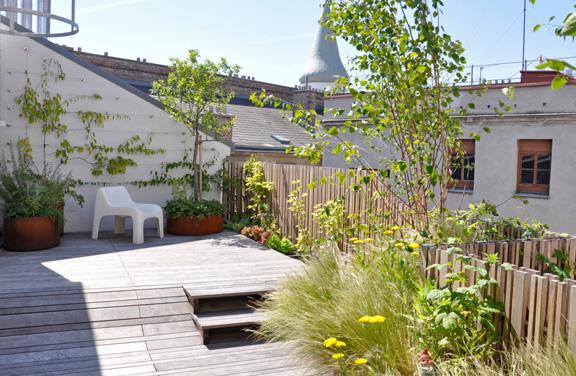 Dachgarten - Überblick