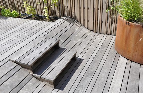 Dachgarten - Stufen